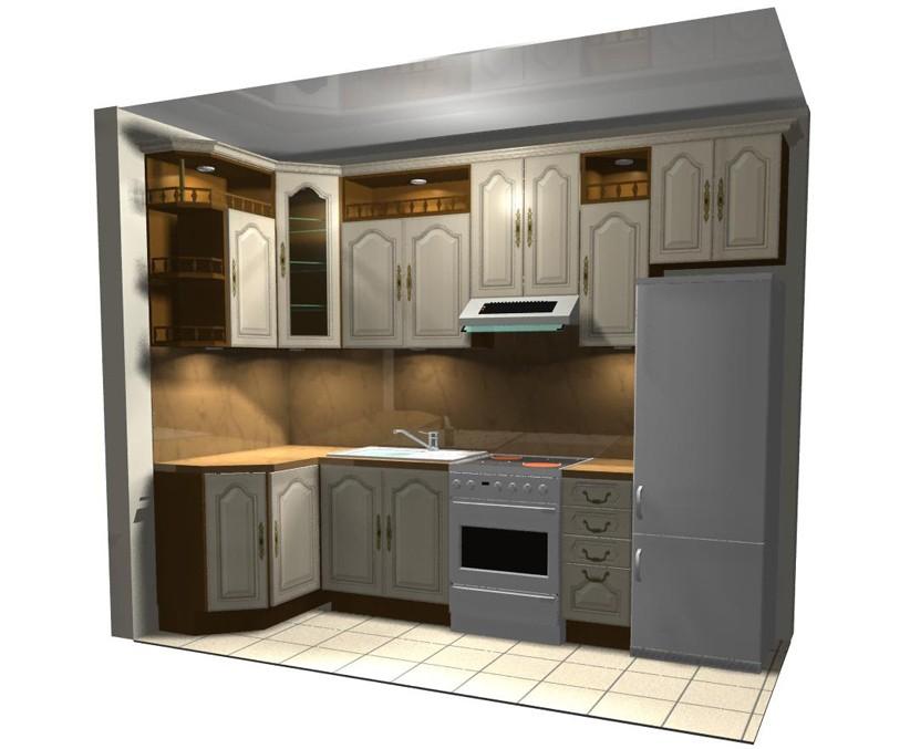 Дизайн кухни в дома 137 серии